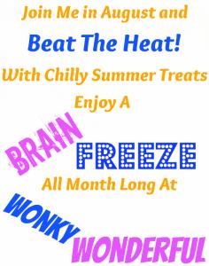 Brain Freeze Month at WonkyWonderful