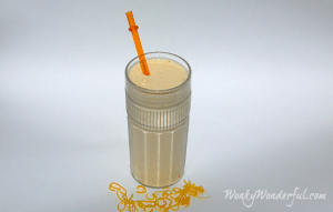 Healthy 50/50 Orange Smoothie