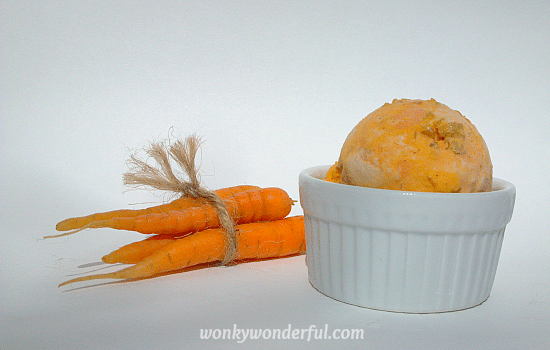 Carrot Cake Ice Cream Recipe - WonkyWonderful.com