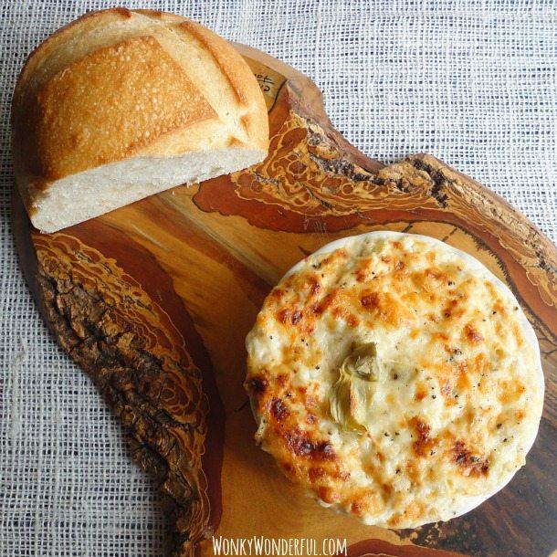 artichoke garlic dip