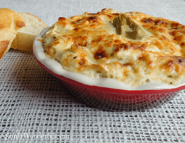 Artichoke & Roasted Garlic Dip - Best of 2012