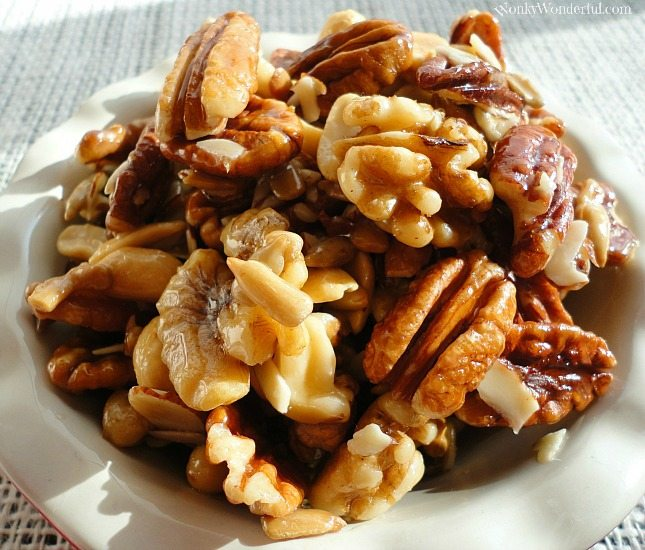 Honey Roasted Nuts