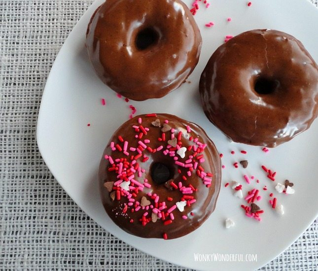 Baked Nutella Donuts