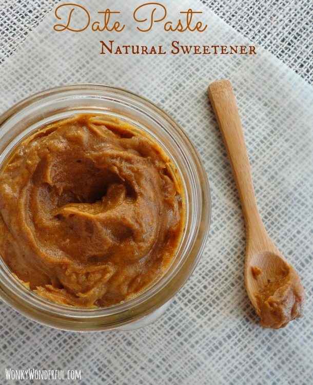Date Paste Clean Eating Natural Sweetener ::: wonkywonderful.com