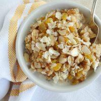 Maple Brown Rice Breakfast