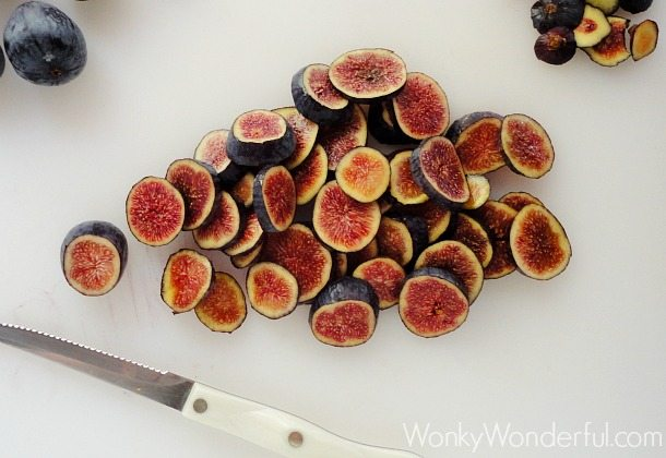 Fig Upside Down Cake ::: wonkywonderful.com