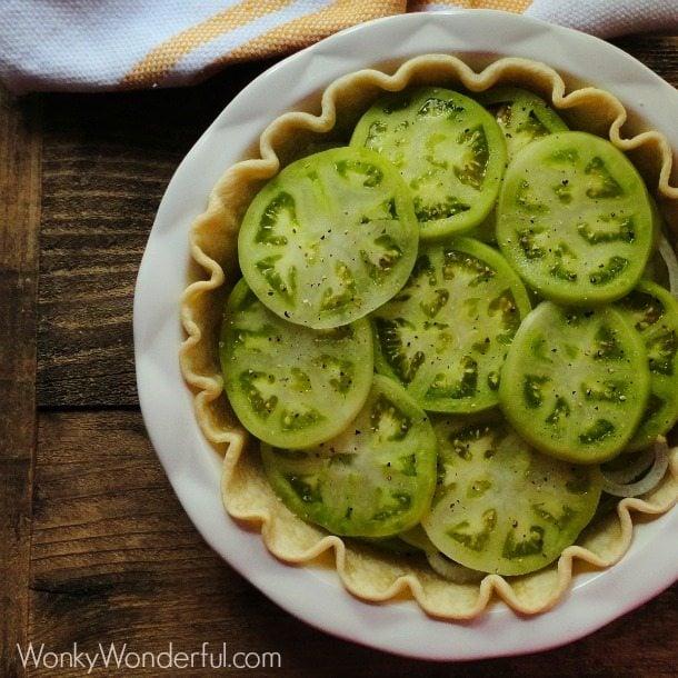 tomato pie fried tomatoes recipe recipes wonkywonderful savory easy southern dishes yumgoggle cooking