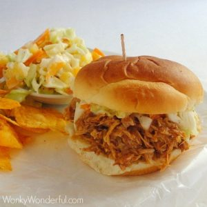 Slow Cooker Bbq Chicken Sliders