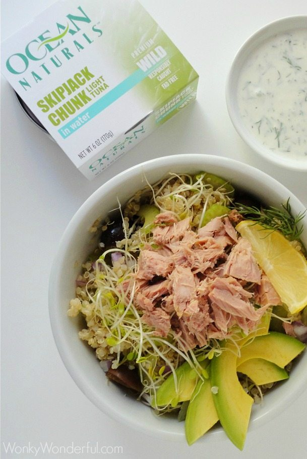 Healthy canned tuna salad recipes