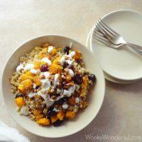 Pumpkin Quinoa Bowl