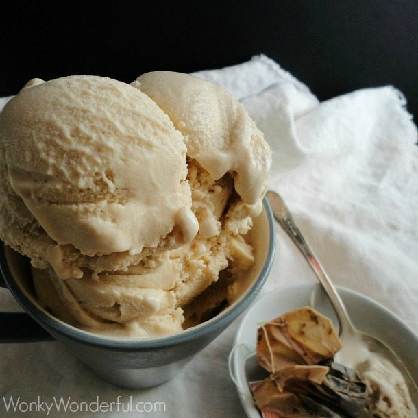 Vanilla Chai Ice Cream Recipe and #Giveaway