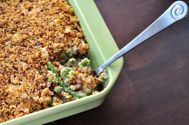 Green Bean Casserole - Traditional Thanksgiving Menu Ideas