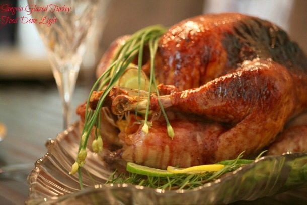 Sangria Glazed Turkey - Traditional Thanksgiving Menu Ideas