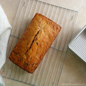 Orange Glazed Cranberry Bread Recipe
