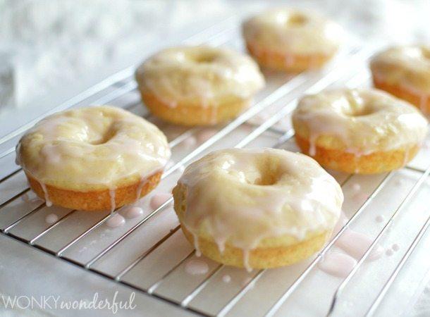 how to make vanilla donuts