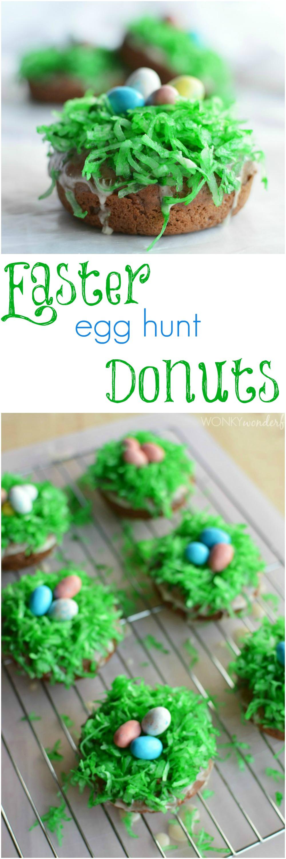 Easter Breakfast Donuts Wonkywonderful