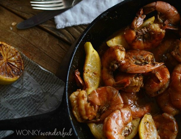 Barbecue Shrimp – New Orleans Style