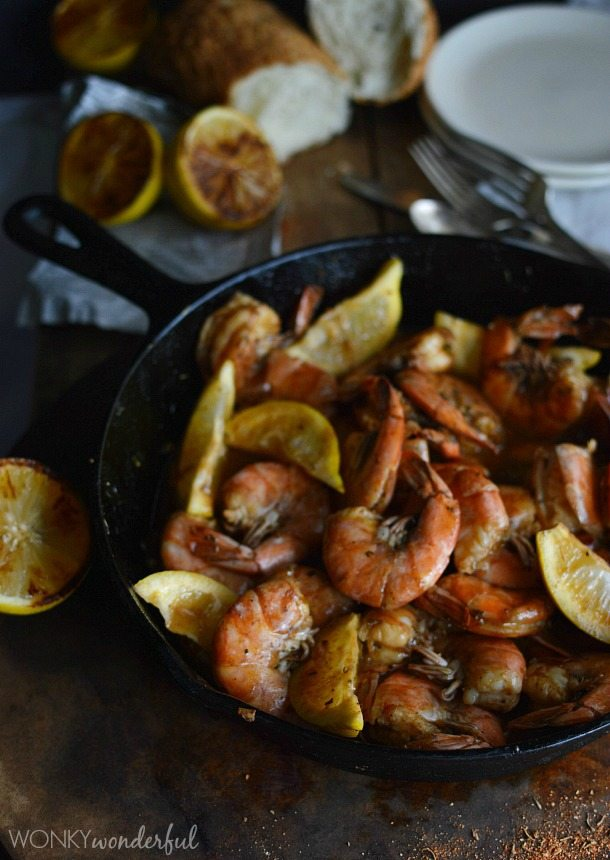 New Orleans Barbecue Shrimp Recipe - Barbeque Bbq - cajun shrimp ...
