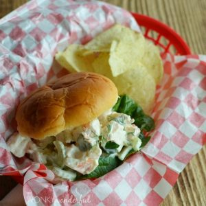 Spicy Shrimp Roll Sandwich Recipe - wonkywonderful.com