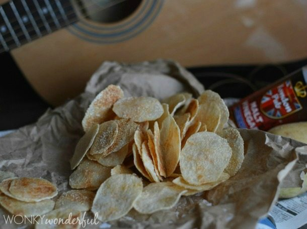 how to make crispy chips in microwave