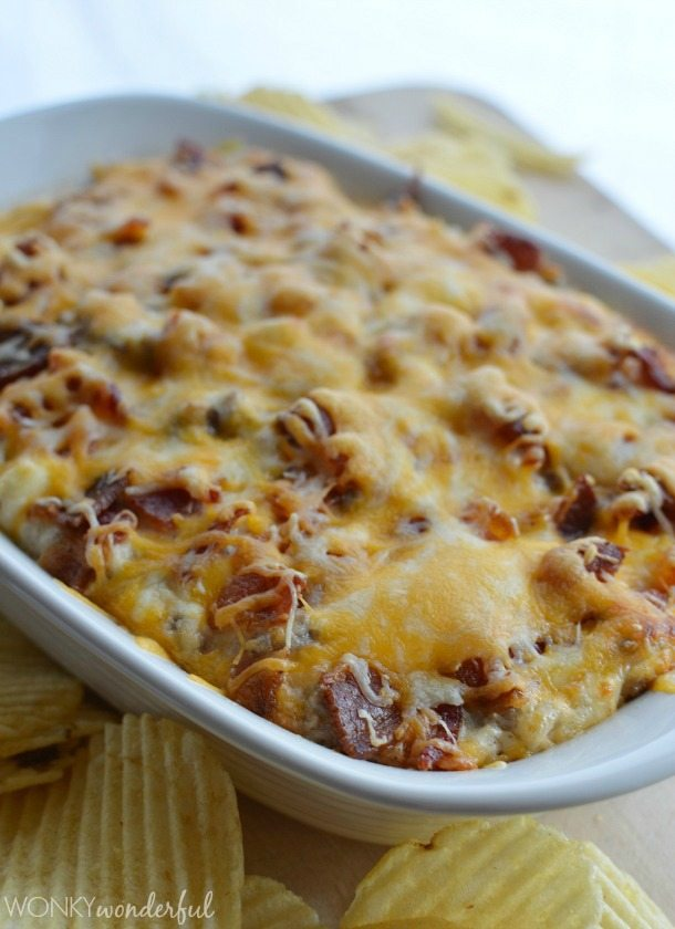 This Bacon Cheeseburger Dip Recipe is not complicated at all. Just ...