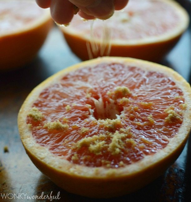 Broiled Grapefruit Gelato Recipe : ice cream : citrus : dessert