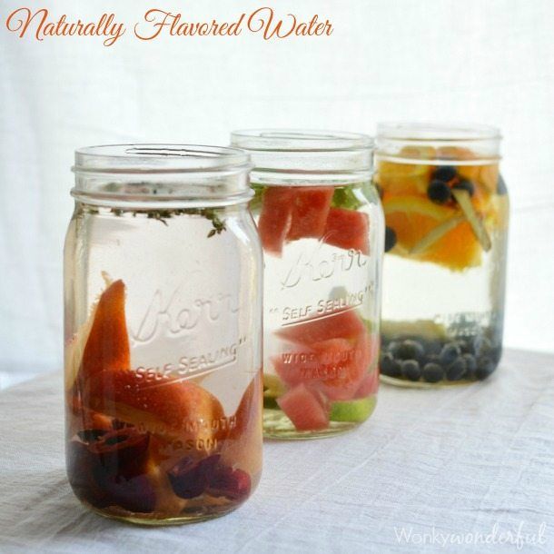 Naturally Infused Flavored Water