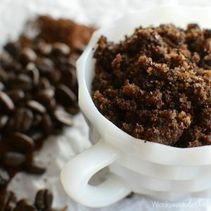 Homemade Coffee Body Scrub
