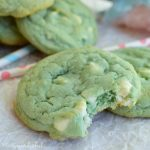 Cotton Candy White Chocolate Chip Cookies - Soft Cookie Recipe that the kids will LOVE!