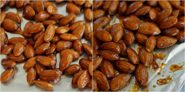 Sriracha Glazed Almonds