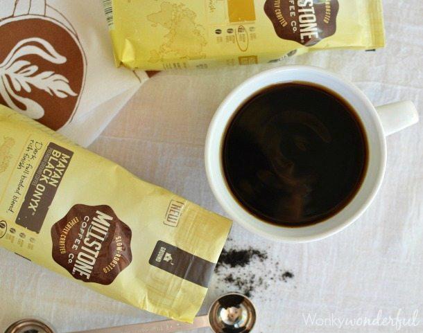 Black Coffee and Doughnuts #MillstoneCoffee