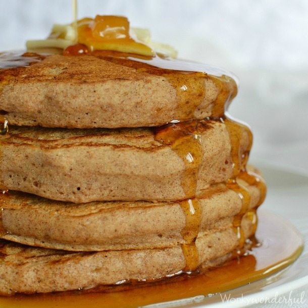 Gingerbread Spice Vegan Pancake Recipe