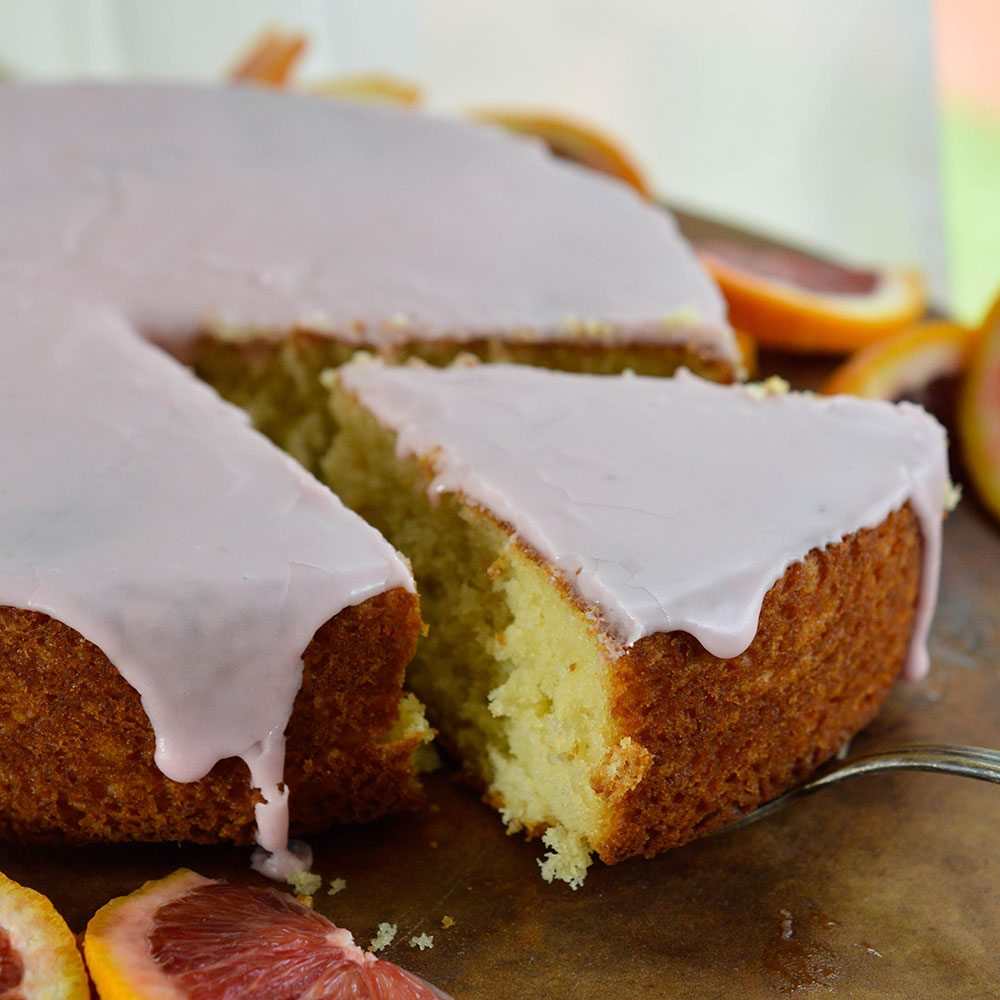 Blood Orange Cake Recipe with Blood Orange Glaze. This easy cake ...