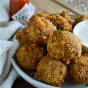 Crab Corn Fritters Recipe