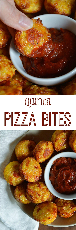 Gluten Free Quinoa Pizza Bites Recipe Wonkywonderful