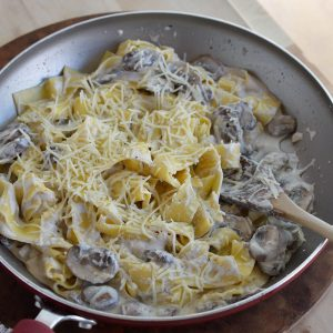 Mushroom Ricotta Pasta Recipe