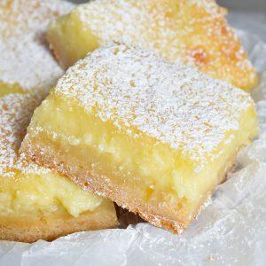 Cake Mix Lemon Bars Recipe