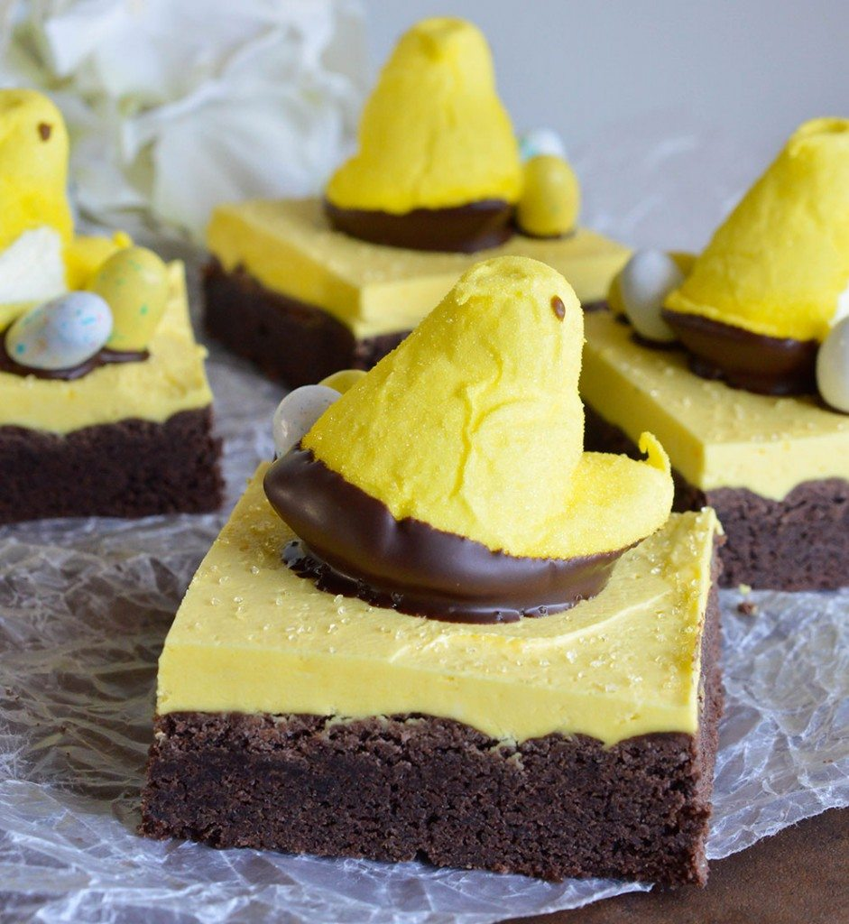Peeps Chocolate Cake Bars Recipe