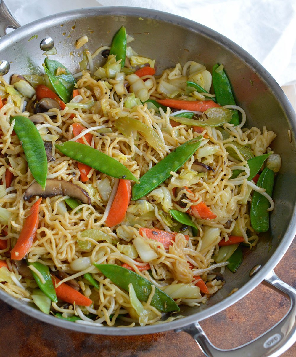 This Easy Chow Mein Recipe is how to make chow mein noodles at home ...