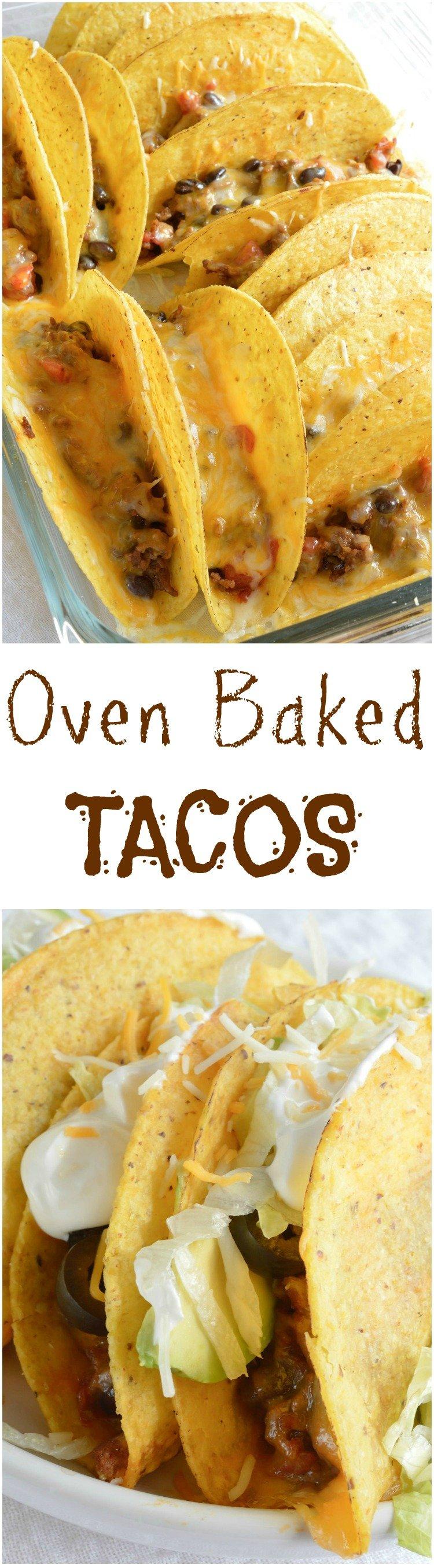 Oven Baked Tacos Wonkywonderful