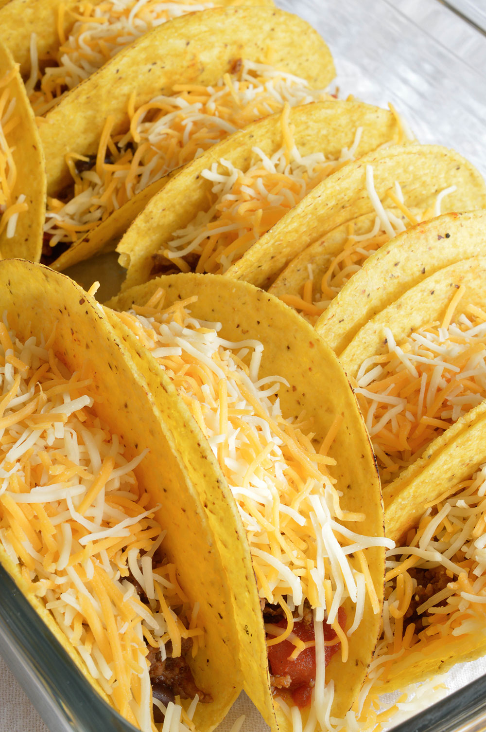 ... taco recipe is full of flavor and melty cheese! Also a great weeknight