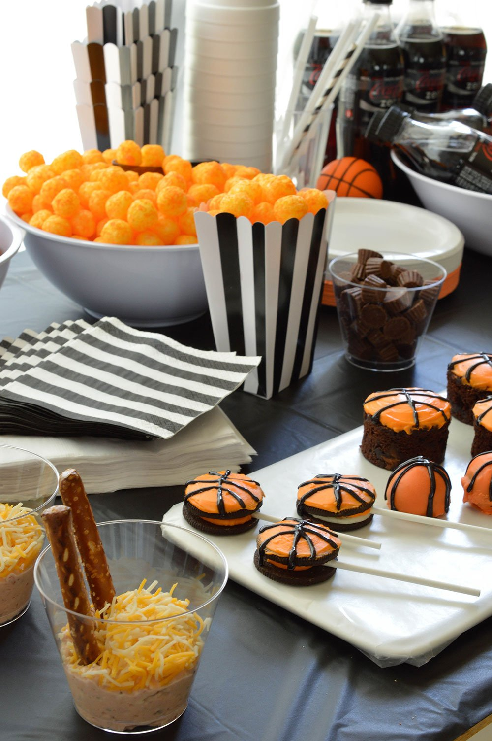 Basketball Party Ideas For Your B Ball Themed Celebration. Cheer On Your  Favorite Team
