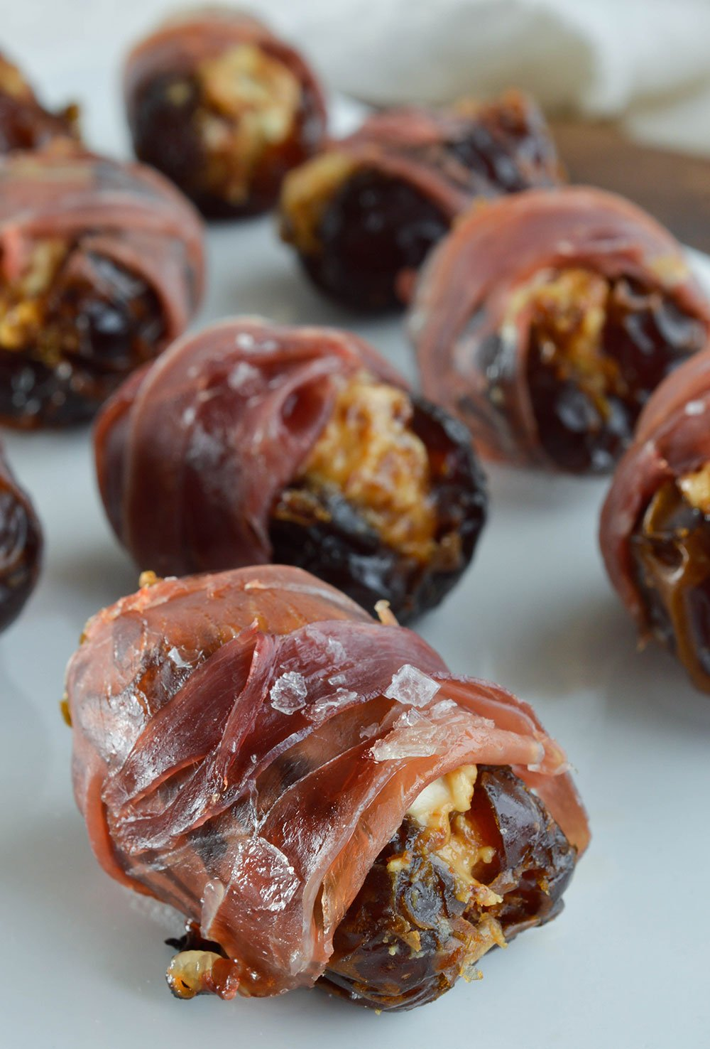 Prosciutto wrapped dates in Brisbane