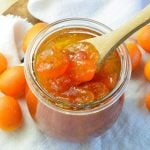 This Vanilla Kumquat Jam Recipe is great as a spread, dessert topping or condiment. This easy compote style jelly will add bright, citrus flavor to any dish!