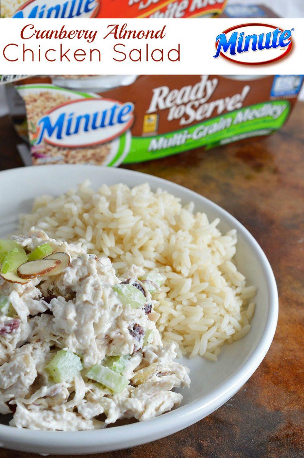 Good Foods Cranberry Almond Chicken Salad Costco