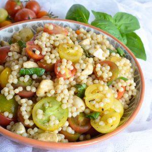 Caprese Couscous Salad Recipe