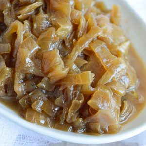 Slow Cooker Caramelized Onions Recipe