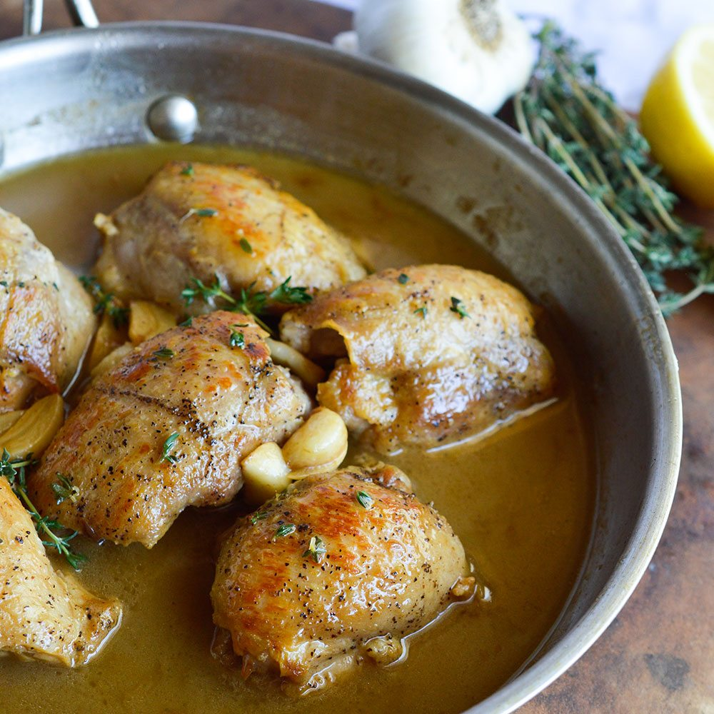 Lemon Butter Chicken Thigh Recipe