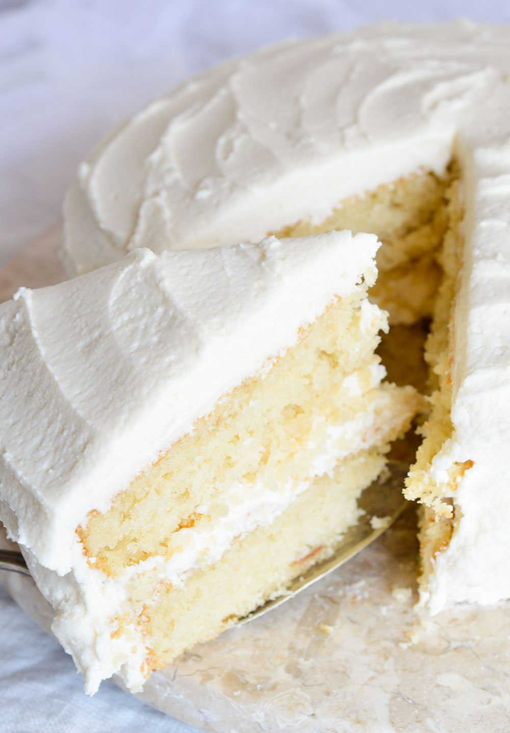 Vanilla Buttercream Cake Filling