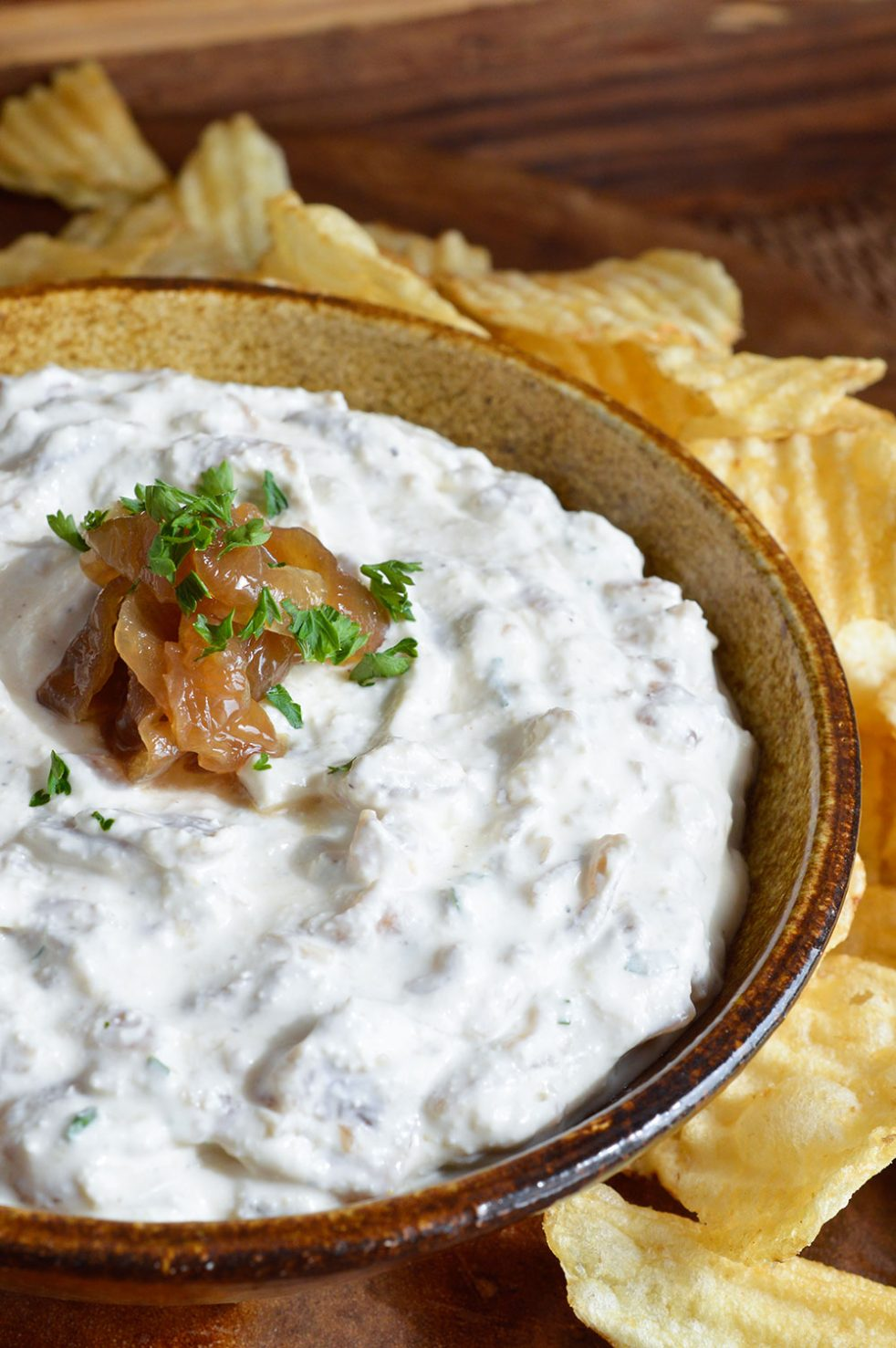 french onion dip with cream cheese